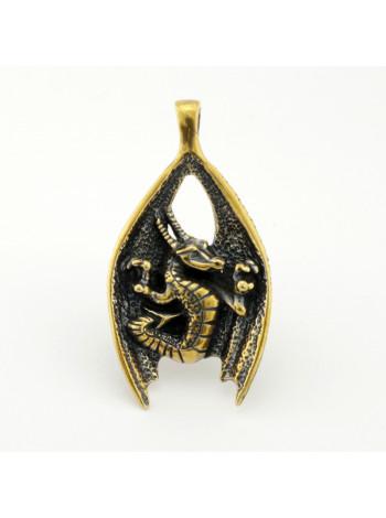 Крылатый дракон подвеска