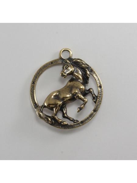 Брелок Конь в круге