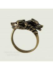 Кольцо Два волка