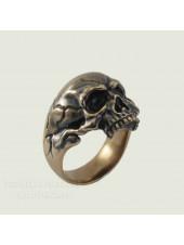 Кольцо череп 2