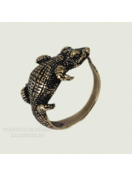 Кольцо Крокодил