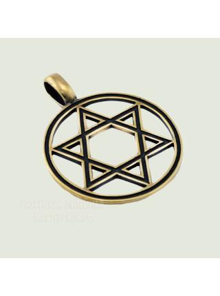 Звезда Давида прорезная